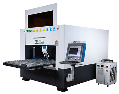 ATACAM CNC Laser Cutter ; Model ALM390 for Metalic Materials